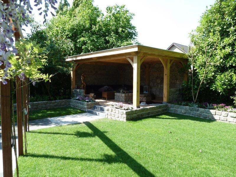 Eiken tuin terrasoverkapping outdoor uniek